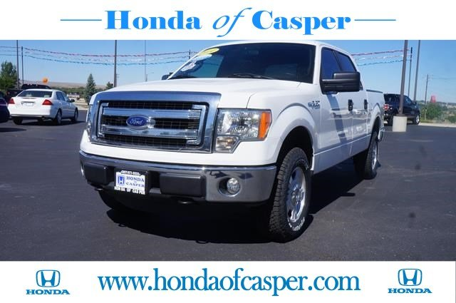 certified pre owned 2014 ford f 150 xlt crew cab pickup in casper 707088 honda of casper. Black Bedroom Furniture Sets. Home Design Ideas
