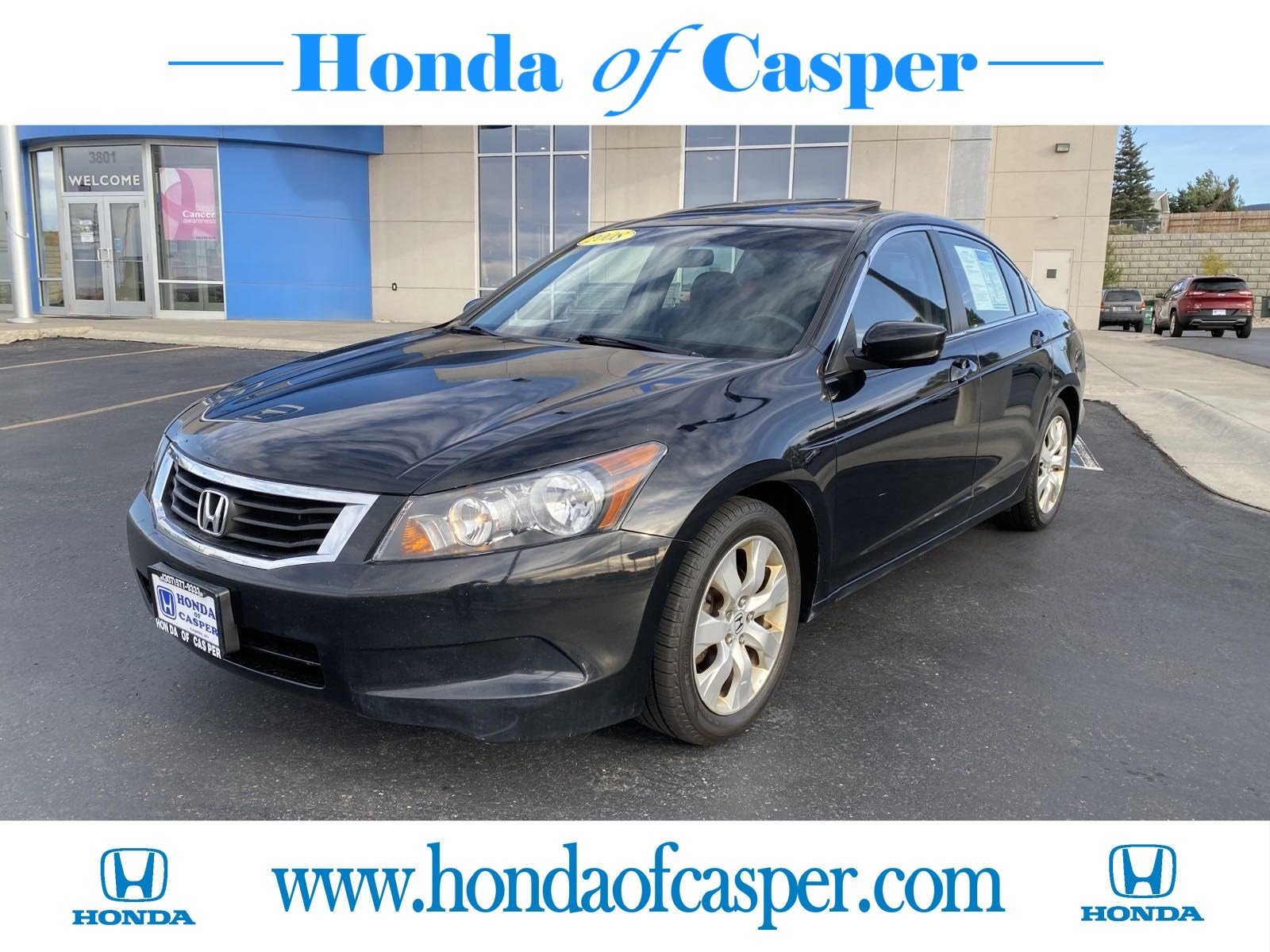 Pre-Owned 2008 Honda Accord Sdn EX