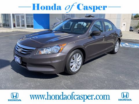 Pre-Owned 2012 Honda Accord Sdn EX-L FWD 4dr Car