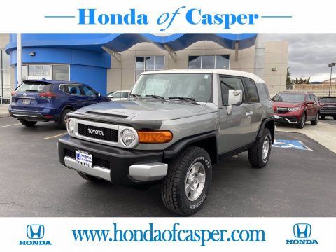 Pre-Owned 2010 Toyota FJ Cruiser 4WD